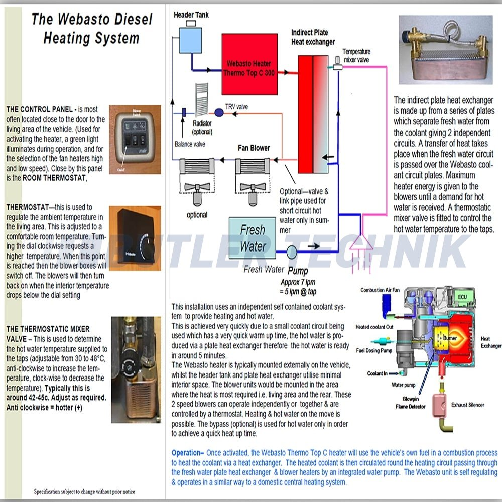 webasto thermo top c300 diesel camper heating kit 41k107d p73 2339_image webasto heater wiring diagram webasto heater thermo top c wiring