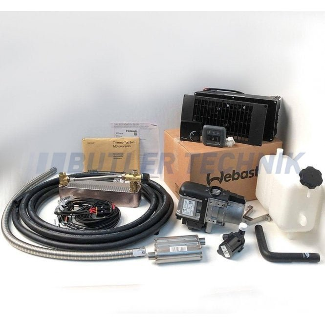 Webasto Thermo Top Evo 12v Diesel Camper Heating Kit | 4117881A