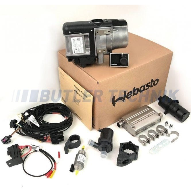 Webasto Thermo Top Evo 5kw Water Heater Diesel 12V RV Version Basic kit | 9034942A