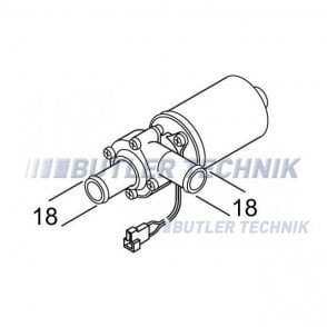 Webasto Water Pump 24v U4810 | 458392 | 9024185B